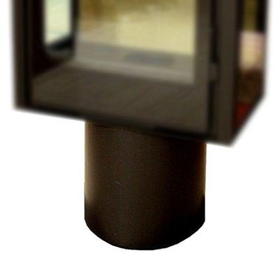 chimenea-leña-vista-base-redonda-pintada
