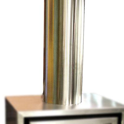 chimenea-leña-tubo-visto-inox