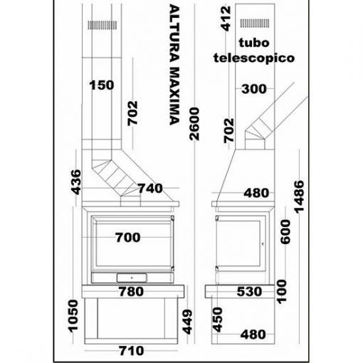 medidas-chimenea-leña-diseño-asturias
