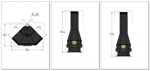 medidas-chimenea-leña-diseño-granada