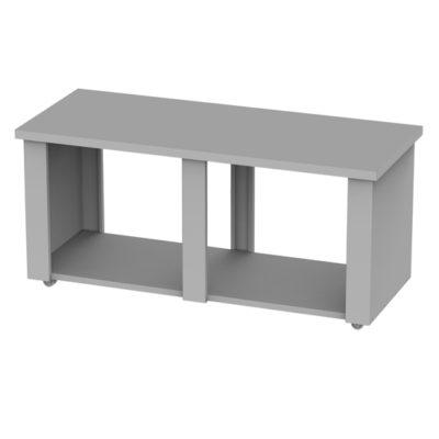 mesa-barbacoa-leña-carbon-150-inox